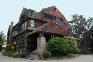 Color photo of Channing Hall, in 2007